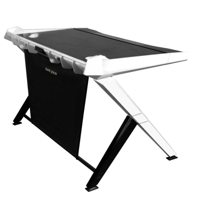 Компютърно бюро DXRacer, GAMING DESK 1000-NW, геймърско, сиво image