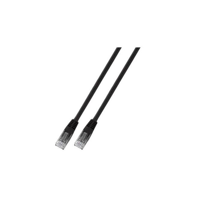 Пач кабел UTP EFB Elektronik, 1m, Cat 5E, пач-кабел, черен image