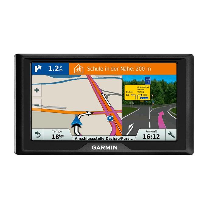 """Навигация за автомобил Garmin Drive 40LM ЕЕ, 4.3""""(10.9 cm) WQVGA TFT дисплей, microSD, карта на Източна Европа image"""