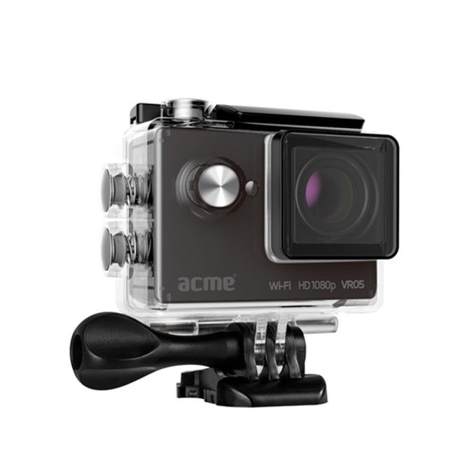 "Екшън Камера Acme VR05, HD 1080p, 2"" (5.08 cm) LCD дисплей, microSD slot, micro USB, micro HDMI, Wi-Fi, водоустойчив кейс, черна image"