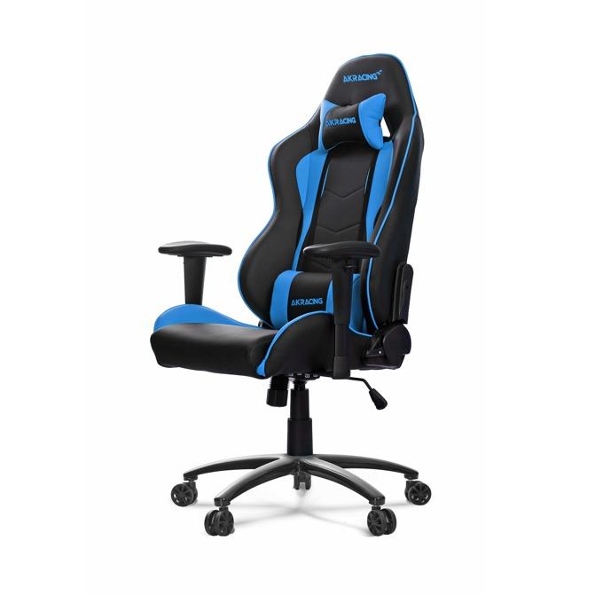 Геймърски стол AKRACING Nitro, син image