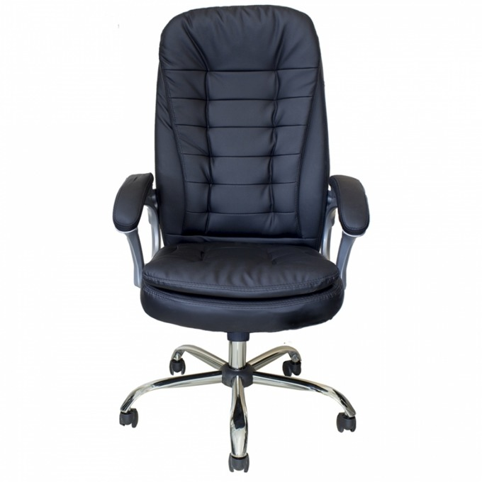 Мениджърски стол Okoffice Metz, еко кожа, до 130 кг image