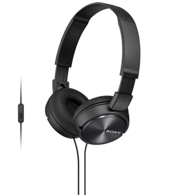 Слушалки Sony MDR-ZX310AP, черни image