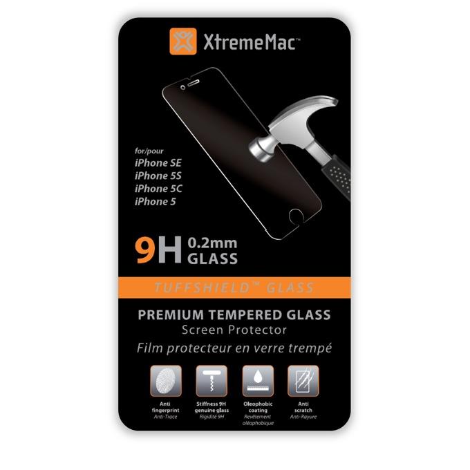 Протектор от закалено стъкло /Tempered Glass/ за iPhone SE(5S), 0.2mm, Прозрачен image