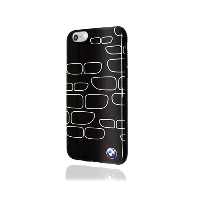 Калъф iPhone 6,6S, страничен протектор с гръб, силиконов, BMW TPU Case, черен image