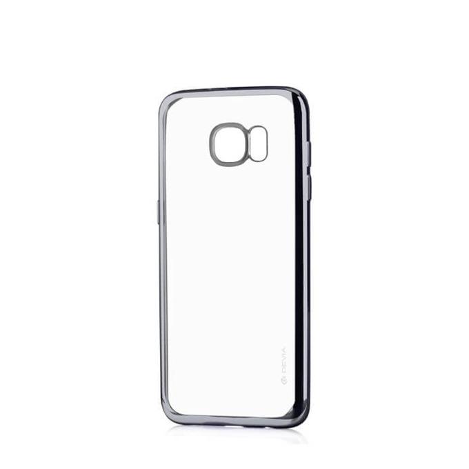 Силиконов протектор за Samsung Galaxy S7 Edge, черен image
