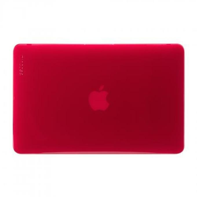 """Протектор InCase Hardshell, поликарбонат, за MacBook Air 11"""", червен-прозрачен image"""