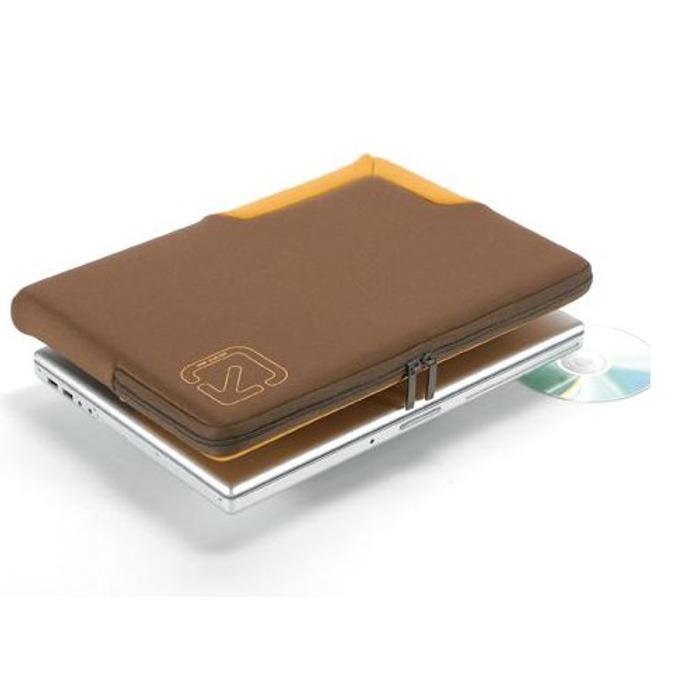 """Калъф за Apple MacBook TUCANO BFGU-MB154-M, 15.4""""(39.12cm), неопрен, кафяво-оранжев image"""