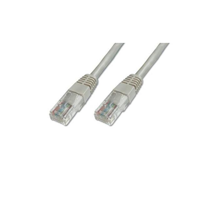 Пач кабел Assmann, U/UTP, Cat.5e, 2m, сив image