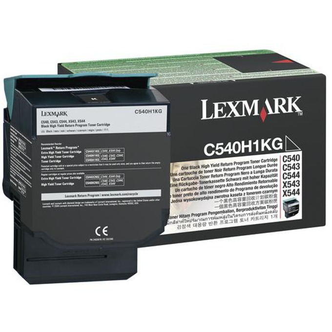 КАСЕТА ЗА LEXMARK OPTRA C 540 series/X540 series - Black - Return program cartridge High Yield - P№ C540H1KG - заб.: 2500k image