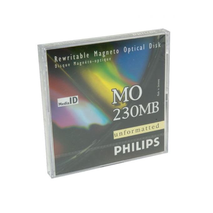 МАГНИТО ОПТИЧЕН ДИСК PHILIPS 230 MB - 512 b/s