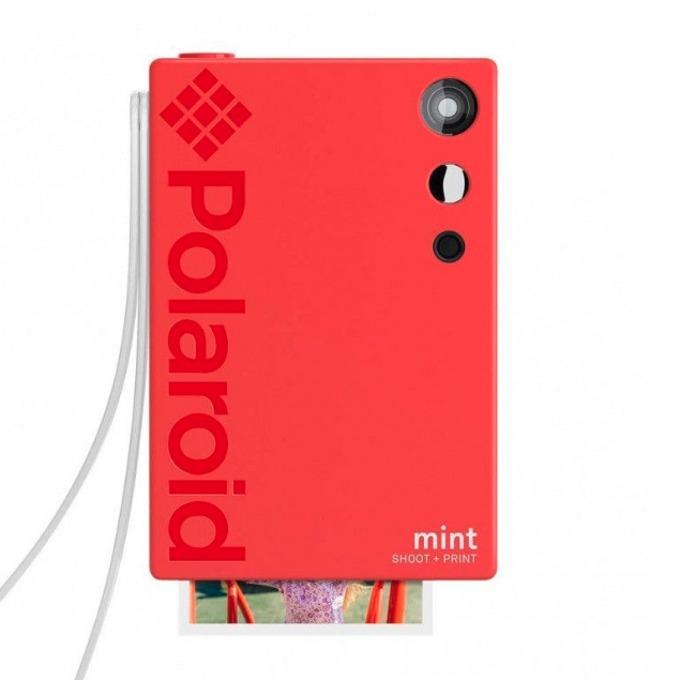 Фотоапарат Polaroid Mint, 16.0 Mpix, MicroSD слот, Zero Ink технология, Bluetooth, червен image