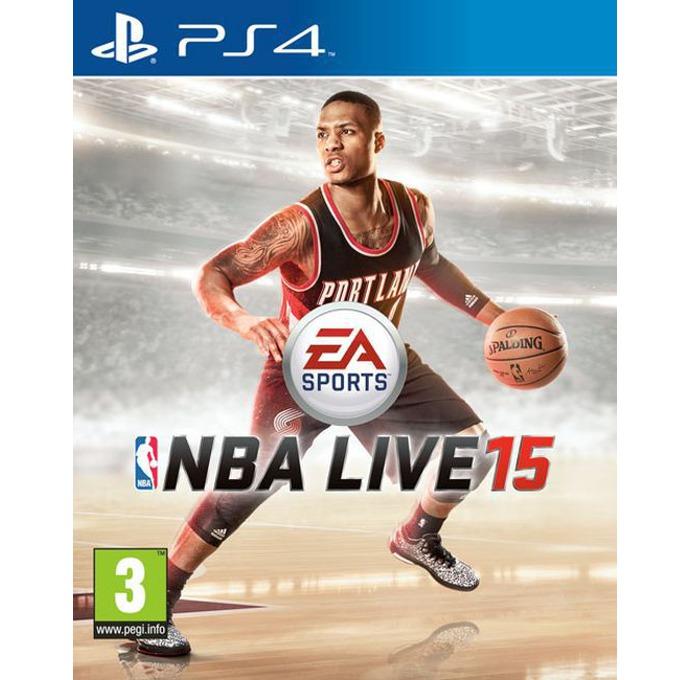 Игра за конзола NBA Live 15, за PlayStation 4 image