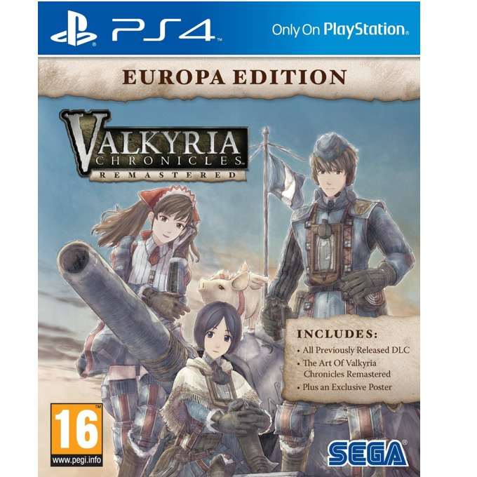 Valkyria Chronicles: Remastered, за PS4 image