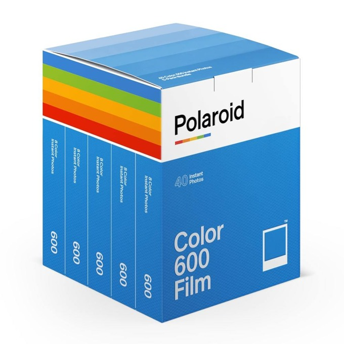 Polaroid Color film for 600 – x40 film pack product