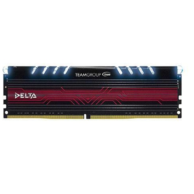 8GB DDR4 2400, Team Group Delta White, TDTWD48G2400HC15A01, 1.2V image