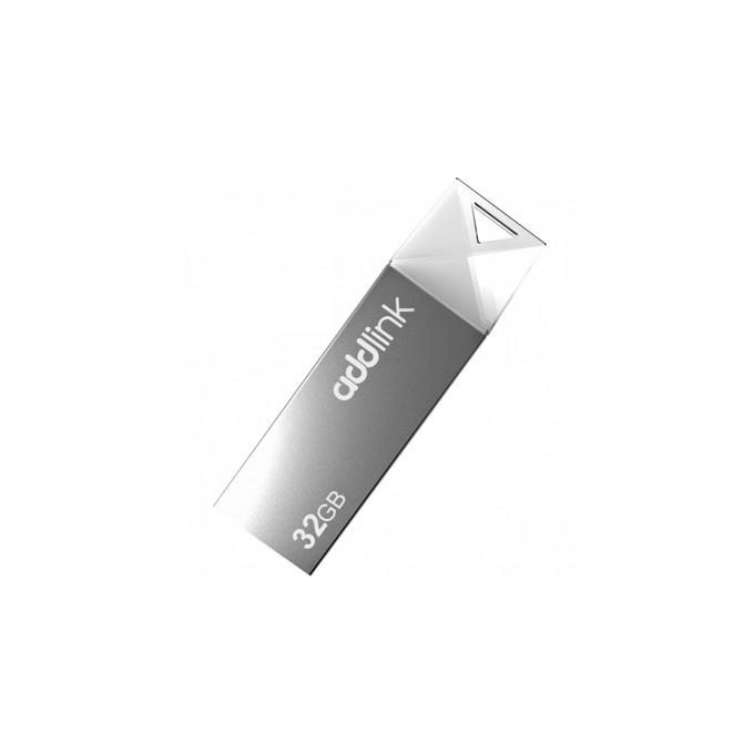 Памет 32GB USB Flash Drive, Addlink U10, USB 2.0, сребриста image