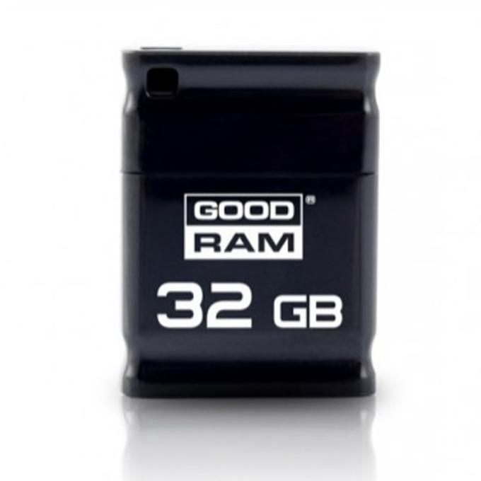 32GB USB Flash Drive, Goodram UPI2, USB 2.0, черна image