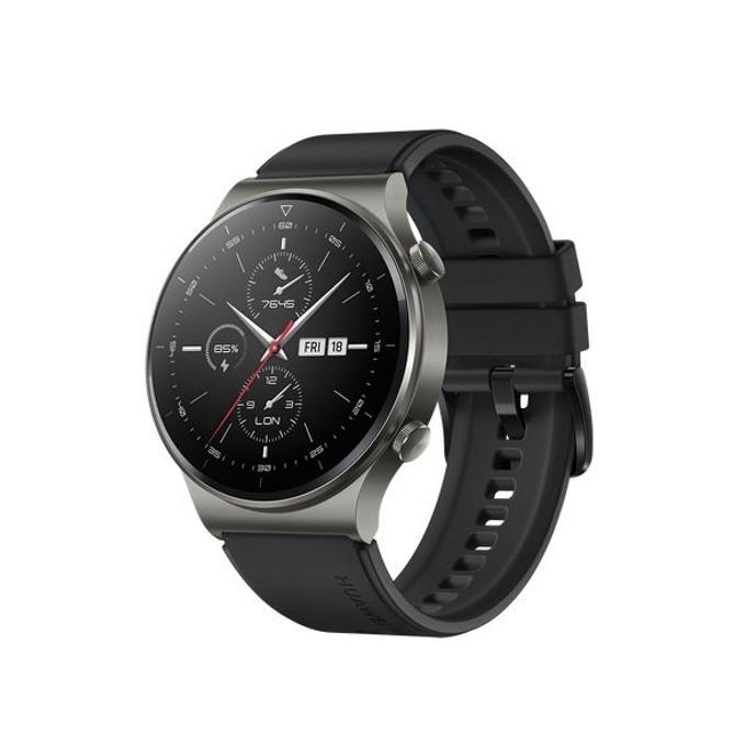Huawei Watch GT 2 Pro (Black Fluoroelastomer Strap product