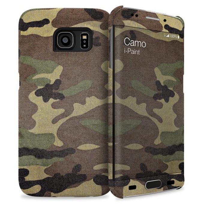 Протектор iPaint Camo HC Case за Galaxy S6 Edge image