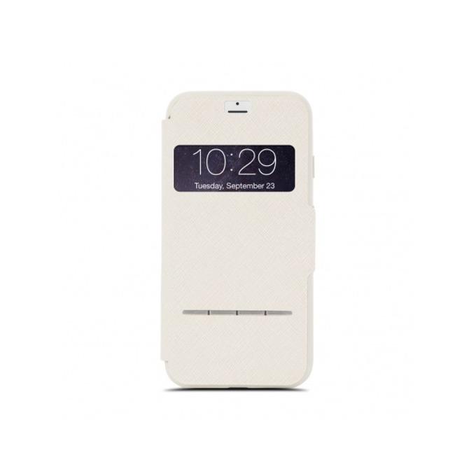Калъф Apple iPhone 7/8, отваряем с прозорче, термополиуретан, Moshi SenseCover 99MO072103, бежов image