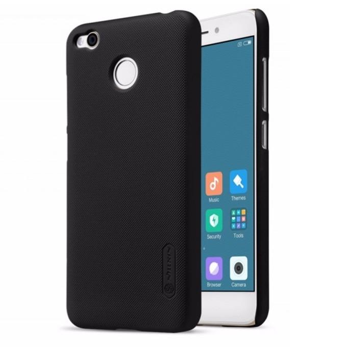Калъф за Xiaomi Redmi 4, страничен с гръб, поликарбонат, Nillkin, черен image