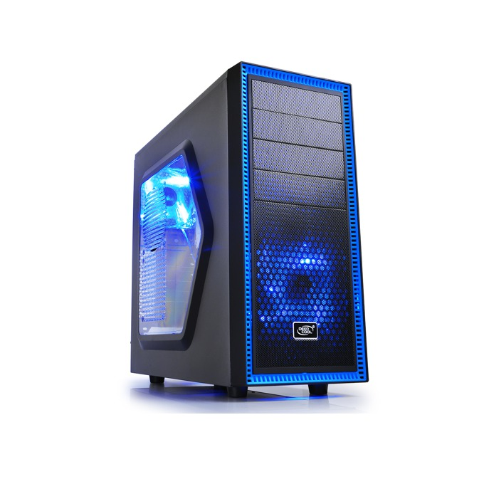Кутия DeepCool Tesseract SW, ATX/mini/microITX, Mid Tower, USB3.0, без захранване, черна image