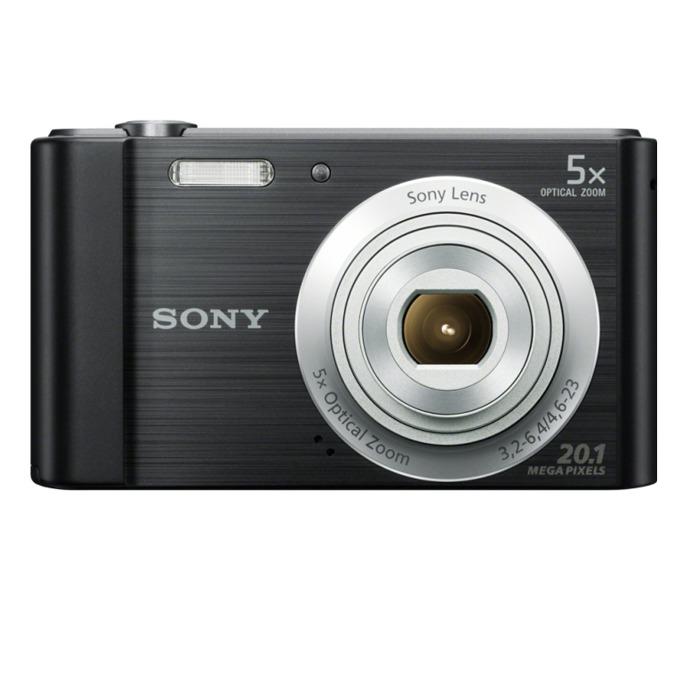 """Sony Cyber Shot DSC-W800, черен, 5xOptical zoom, 20.1Mpix, 2.7"""" (6.86cm) екран, SDHC/SDXC, USB image"""