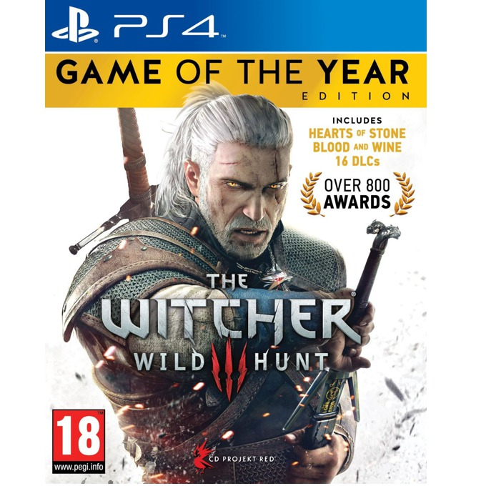 The Witcher 3: Wild Hunt Game Of The Year Edition, за PS4 image