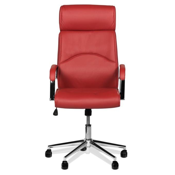 Директорски стол Carmen 6050, вишнево-червен image