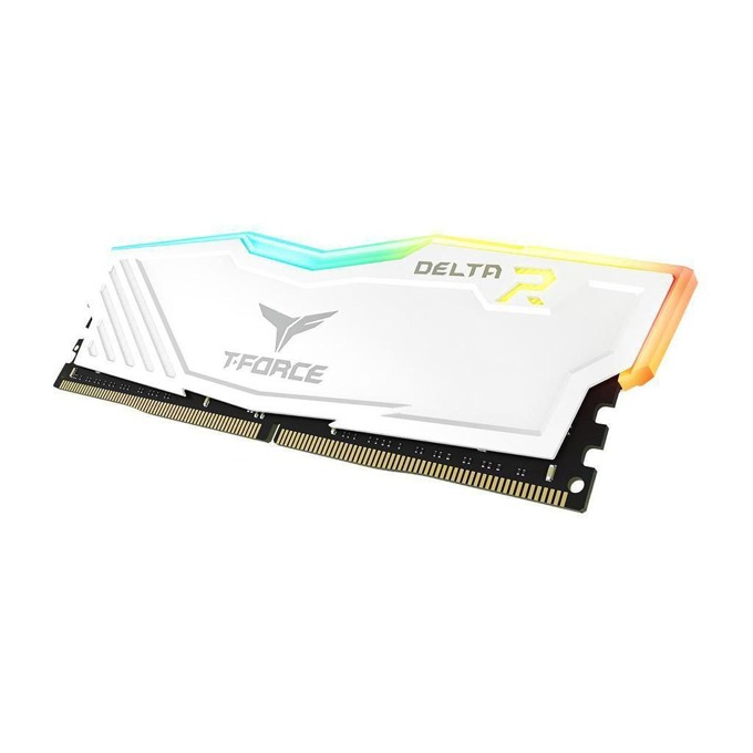 Памет 8GB DDR4 3000MHz, Team Group T-Force DELTA RGB White TF4D48G3000HC16C01, 1.35V image