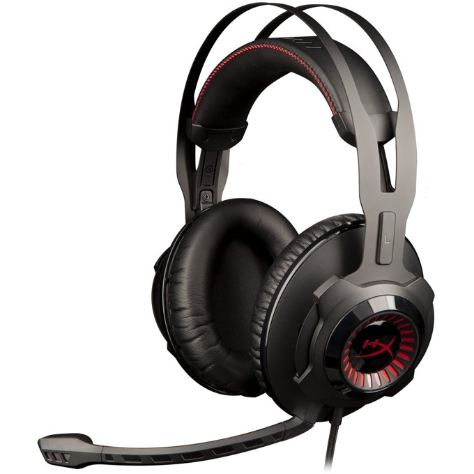 Слушалки HyperX Cloud Revolver, гейминг, микрофон, черни, за PC, Wii U, PS4, Xbox One image