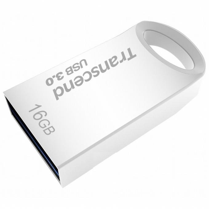 16GB USB Flash Drive, Transcend JetFlash 710, USB 3.0, сребриста image