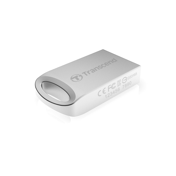 8GB USB Flash Drive, Transcend JetFlash 510, USB 2.0, сребриста image