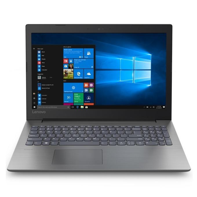 "Лаптоп Lenovo IdeaPad 330 (81D100NVRM), двуядрен Gemini Lake Intel Celeron N4000 1.1/2.6 GHz, 15.6"" (39.62 cm) HD TN Anti-Glare Display, (HDMI), 4GB DDR4, 1TB HDD, 1x USB 3.1, Free DOS, 2.2 kg image"