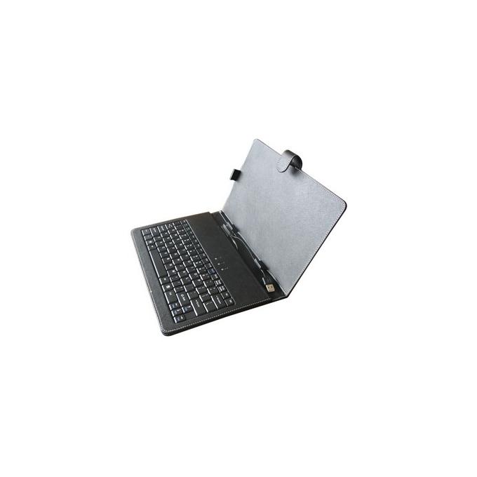 """Калъф PRIVILEG MID-10 за таблет до 10""""(25.4 cm) + вградена USB клавиатура image"""