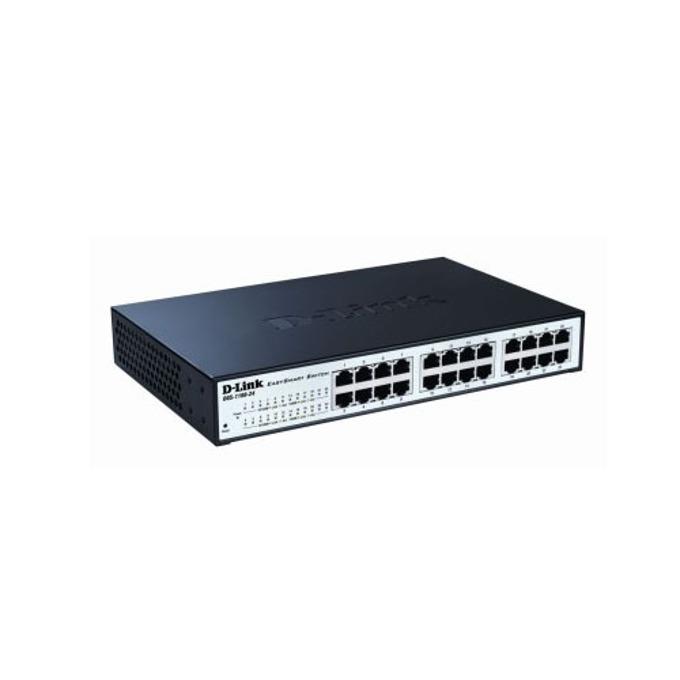 Суич D-Link DGS-1100-24, 24Port 1000Mbps, EasySmart image