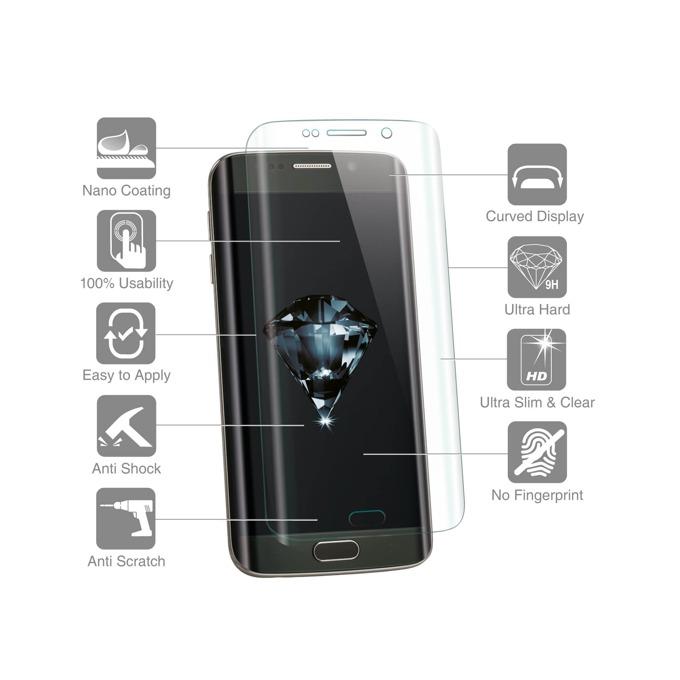 Протектор от закалено стъкло /Tempered Glass/, 4Smarts за Samsung Galaxy S6 Edge image