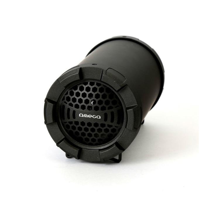 Тонколона Omega Speaker OG70 Bazooka, 1.0, 5W, Bluetooth, AUX, FM радио, MicroSD слот, черна image