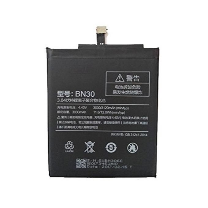 Батерия (оригинална) Xiaomi BN30, за Xiami Redmi 4A, 3120mAh/4.4V image
