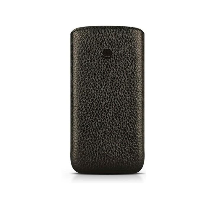 Калъф за Apple iPhone 7 Pluse, джоб, кожен, Beyza Retro Strap, черен image