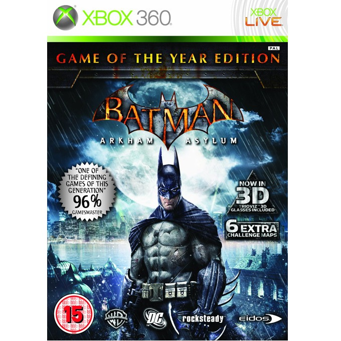 Игра за конзола Batman Arkham Asylum GOTY, за XBOX360 image