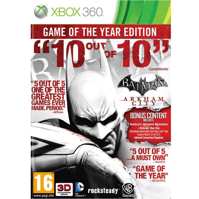 Игра за конзола Batman: Arkham City GOTY, за XBOX360 image