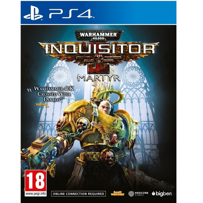 Warhammer 40,000 Inquisitor Martyr, за PS4 image