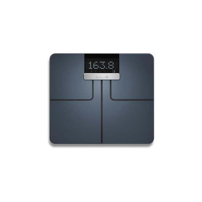 Електронен кантар Garmin Index Smart Scale, Bluetooth Smart, ANT, WiFi, LCD дисплей, до 181кг, черен image