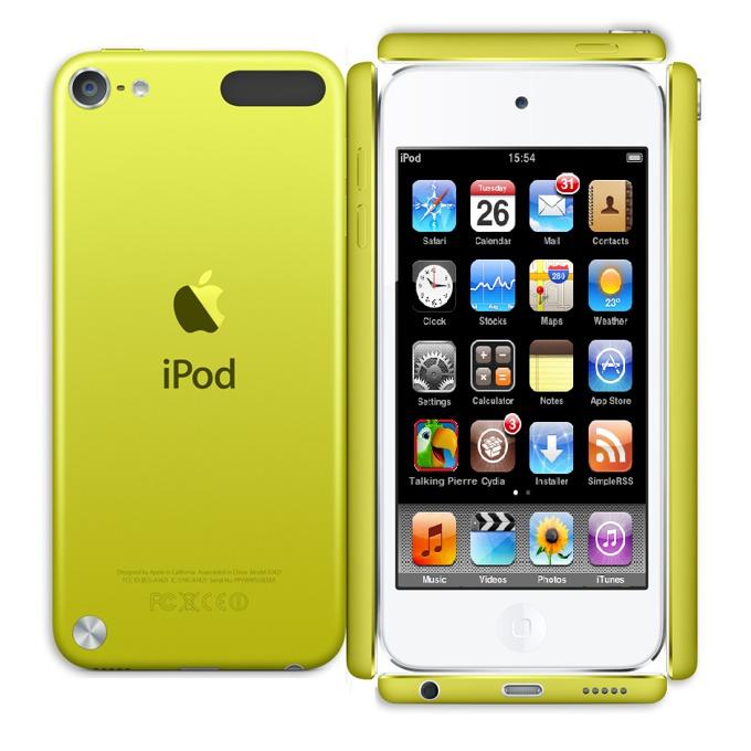 "Apple iPod touch, 4.0"" display, 64Gb, жълт image"