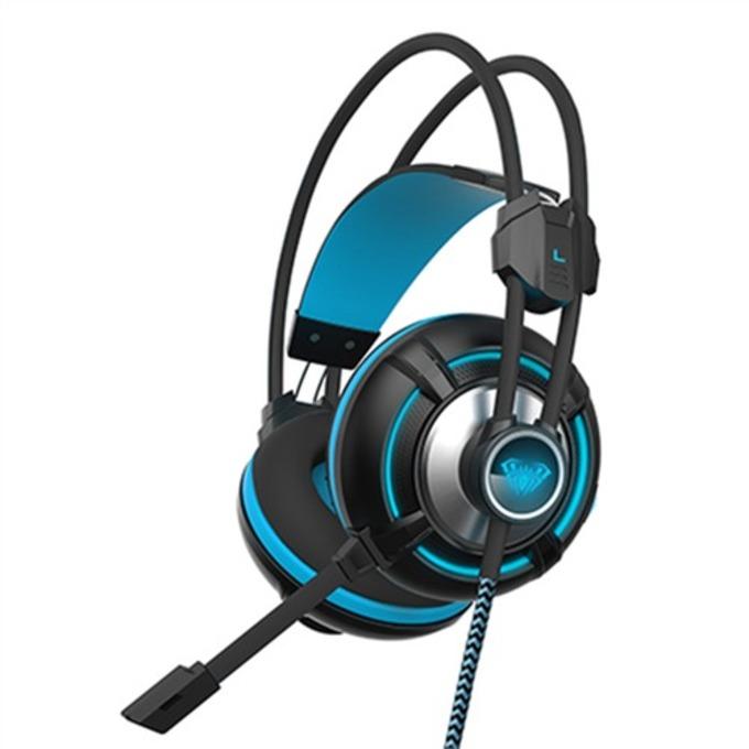 Слушалки AULA G93V Spirit Wheel, микрофон, гейминг, черни image