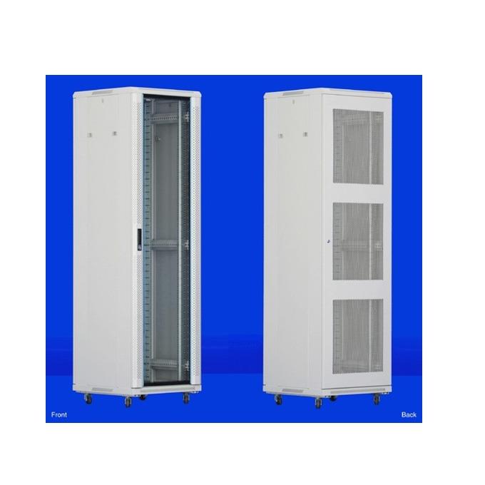 "Комуникационен шкаф Toten AS.6618, 19"", 18U, 600x600 мм, до 800кг товароносимост, IP20 защита image"