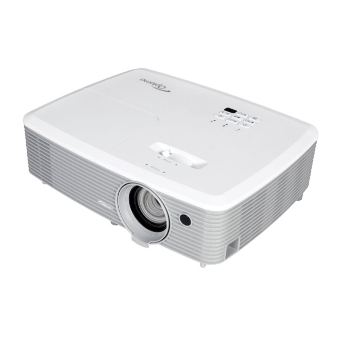 Проектор Optoma W400, DLP, 3D Ready, WXGA (1280x800), 22 000:1, 4000 lm, 2x HDMI, 1x VGA, 1x USB A, 1x RS-232 image