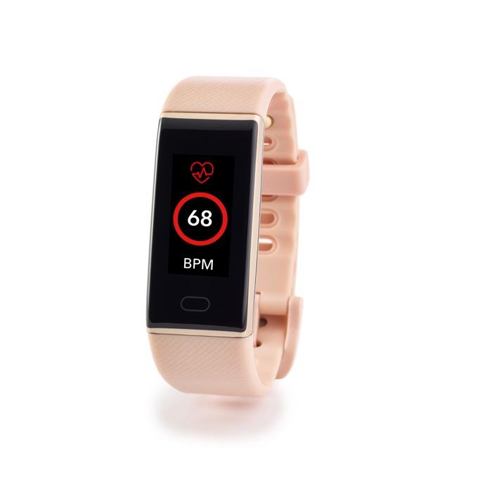 """Смарт часовник MyKronoz ZeNeo, 1.14"""" (2.89 cm) IPS дисплей, до 4 дни време за работа, Bluetooth, водоустойчив IP56, розов/златист image"""